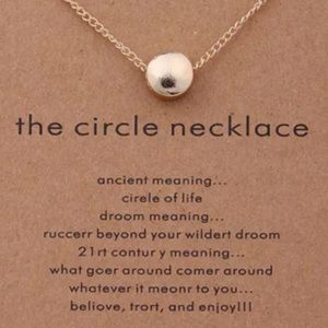 Jewelry - The Circle ⭕️